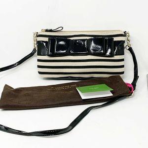 New Kate Spade Striped Crossbody Bag